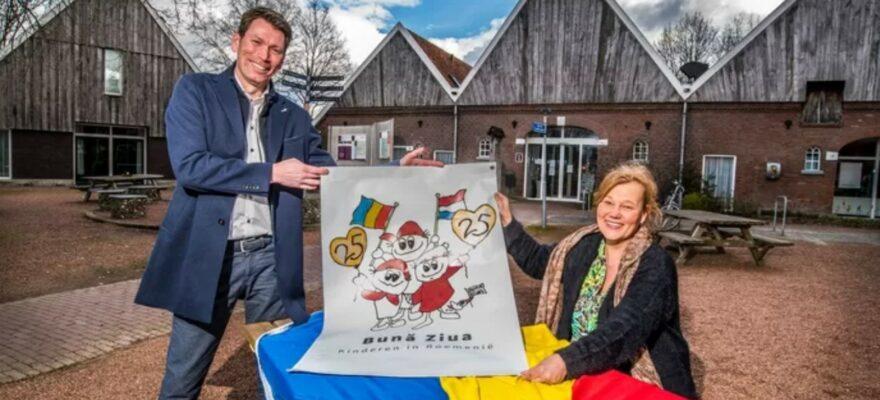 Artikel Tubantia Bună Ziua Nederland 25 jaar